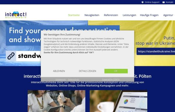 Vorschau von www.interactmultimedia.at, Interact! Multimedia