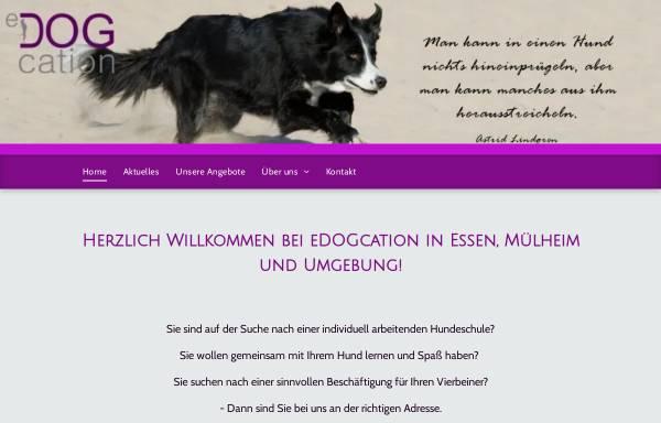 Vorschau von www.edogcation.de, EDOGcation - Vanessa Schäfer