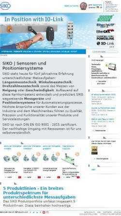 Vorschau der mobilen Webseite www.siko-global.com, SIKO GmbH