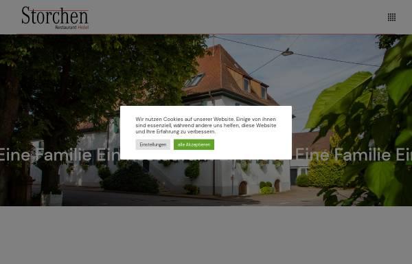 Vorschau von www.storchen-schmidhofen.de, Hotel Restaurant Storchen