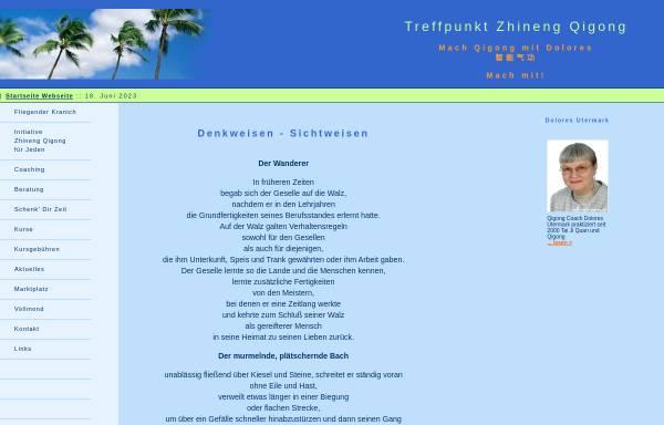 Vorschau von www.mach-qigong.de, Treffpunkt Zhineng Qigong
