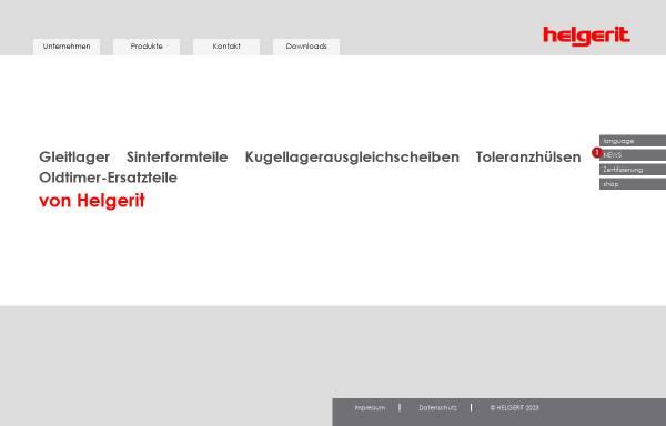 Vorschau von www.helgerit.de, Helgerit Industriebedarf Handelsgesellschaft mbH