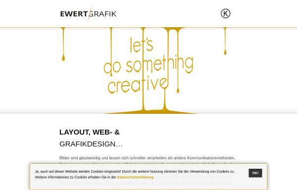 Vorschau von www.fabian-ewert.de, Büro für visuelle Kommunikation - Fabian Ewert Design