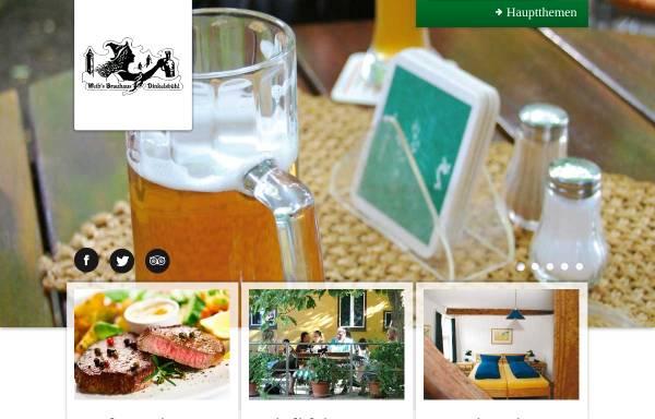 Vorschau von www.weibsbrauhaus.de, Weib's Brauhaus Dinkelsbühl