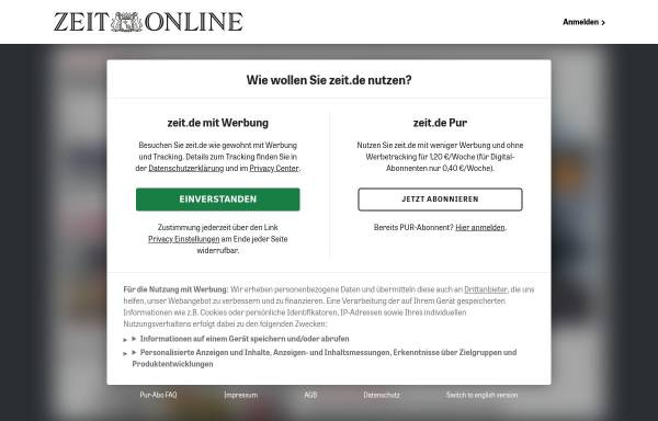 Vorschau von www.zeit.de, Hemmelmann, Petra