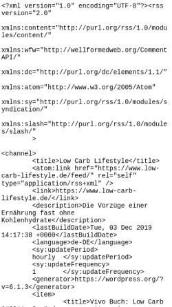 Vorschau der mobilen Webseite www.low-carb-lifestyle.de, Low Carb Lifestyle