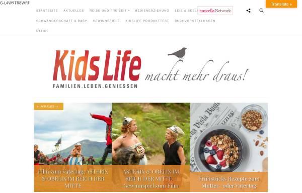 Vorschau von www.kidslife-magazin.de, Kidslife Elternratgeber