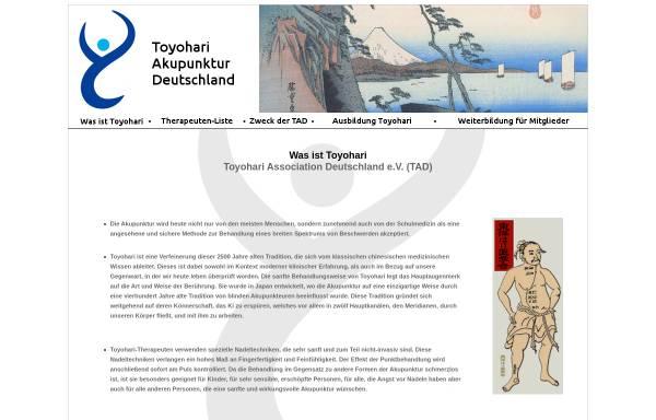 Vorschau von toyohari.de, Toyohari Association Deutschland