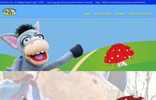 Vorschau von www.erlebnispark-steinau.de, Erlebnispark Steinau