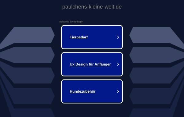 Vorschau von www.paulchens-kleine-welt.de, Paulchens kleine Welt