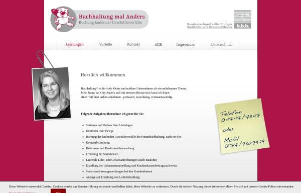 Vorschau von buchhaltungmalanders.de, Buchhaltung mal Anders