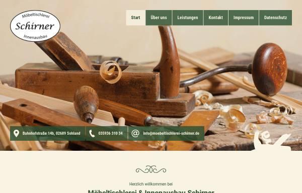 Vorschau von www.caravaninnenausbau.de, Möbeltischlerei & Innenausbau Schirner