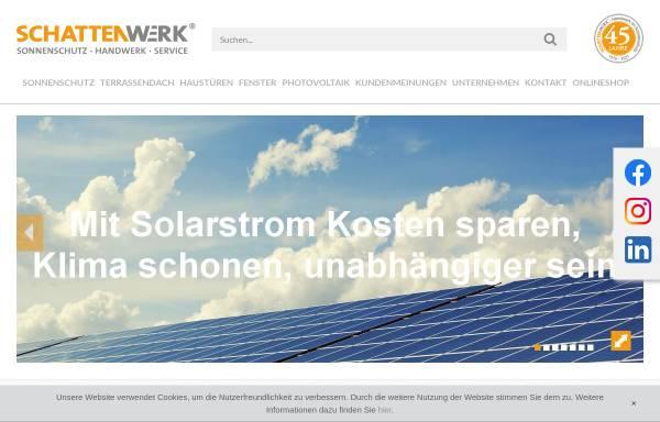Vorschau von www.schattenwerk.de, SCHATTENWERK Hannover