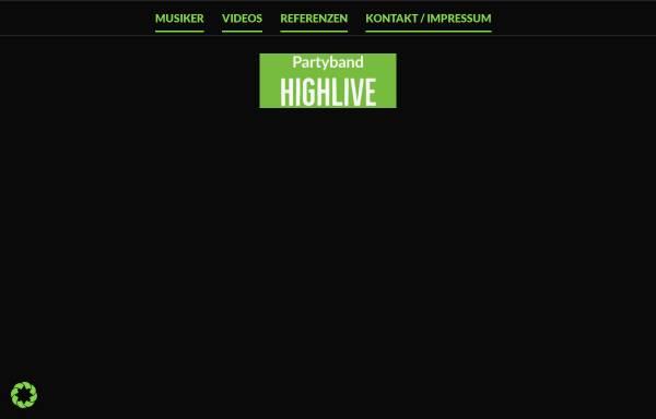 Vorschau von www.highlive-band.de, Highlive