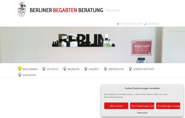 Vorschau von berliner-begabten-beratung.de, Berliner Begabten-Beratung