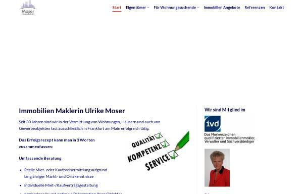 Vorschau von immobilienmoser.de, Moser Immobilien Service