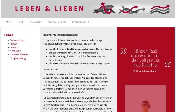 Vorschau von www.mensch-und-psyche.de, Psychologie und Persönlichkeit