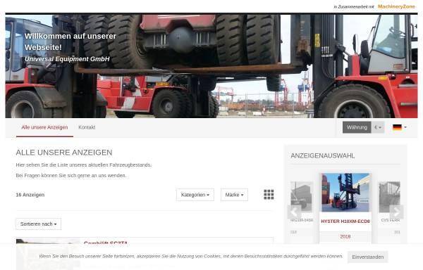 Vorschau von www.universal-equipment.de, UEG Universal-Equipment GmbH