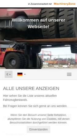 Vorschau der mobilen Webseite www.universal-equipment.de, UEG Universal-Equipment GmbH