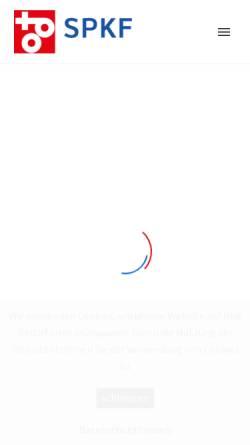 Vorschau der mobilen Webseite www.zpk.ch, ZPK, Verband der Schweizerischer Zellstoff-, Papier- und Kartonageindustrie und Arbeitgeberverband Schweizerischer Papier Industrieller