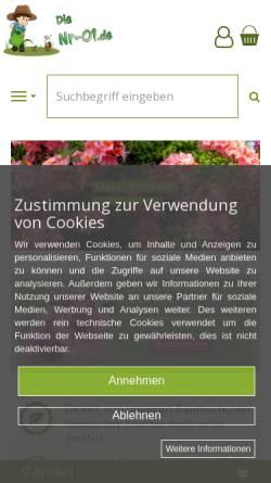 Vorschau der mobilen Webseite www.nr-01.de, Nr-01.de, Gerd Dieter Düring
