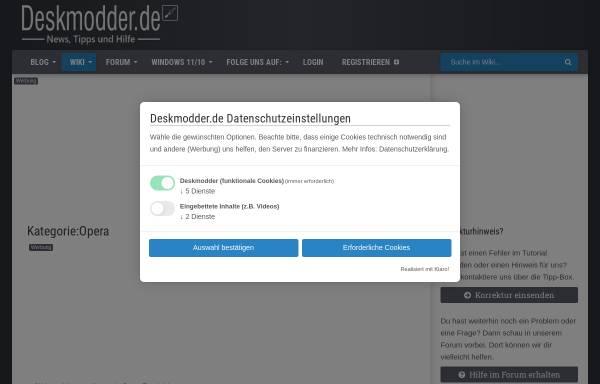 Vorschau von deskmodder.de, Tutorials auf Deskmodder.de