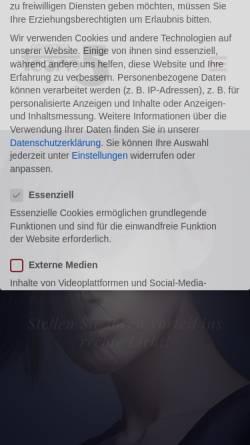 Vorschau der mobilen Webseite www.friseur-team5.de, Cosmetic & Haarstudio Team 5