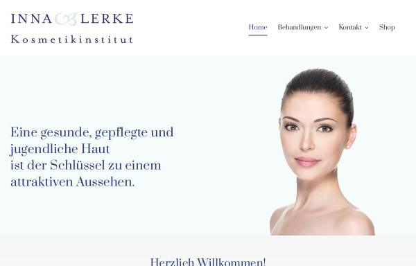 Vorschau von www.kosmetikinstitut-lerke.de, Kosmetikinstitut Inna Lerke