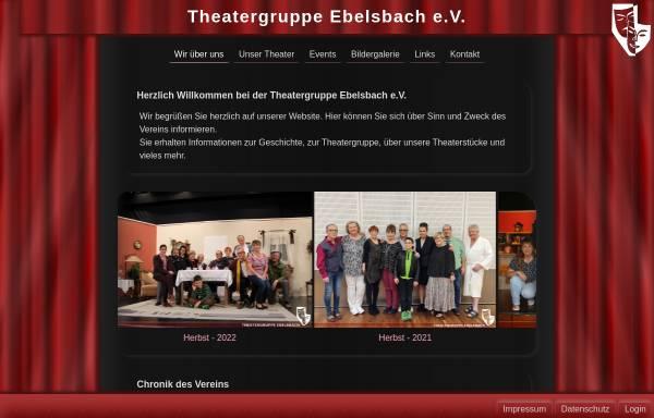 Vorschau von www.theatergruppe-ebelsbach.de, Ebelsbach, Theatergruppe