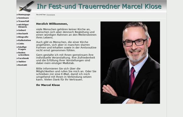 Vorschau von www.ungebundener-redner.de, Marcel Klose