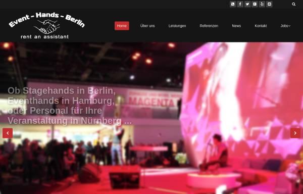 Vorschau von event-hands.com, EVENT-HANDS GmbH Messe- und Eventbau