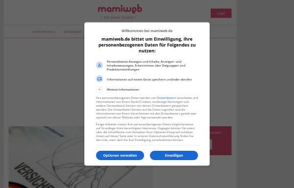 Vorschau von www.mamiweb.de, Mamiweb