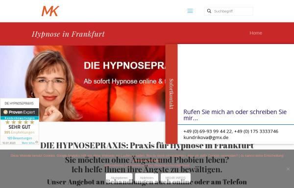 Vorschau von www.hypnosewelt-frankfurt.de, DIE HYPNOSEPRAXIS Frankfurt - Heilpraktikerin Monika Kundrikova