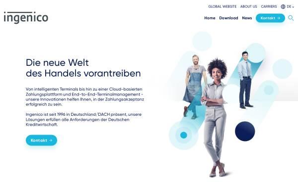 Vorschau von www.ogone.de, Ogone GmbH