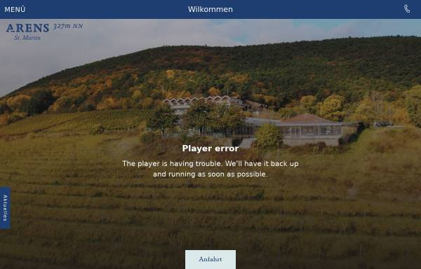 Vorschau von www.hausamweinberg.de, Hotel Haus am Weinberg