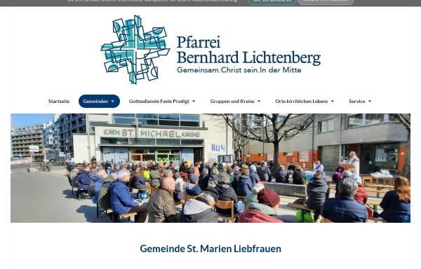 Vorschau von marien-liebfrauen.de, St. Marien-Liebfrauen und St. Michael