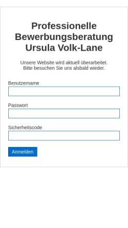 Vorschau der mobilen Webseite www.bewerbungs-beratung.info, Bewerbungsberatung - Ursula Volk-Lane