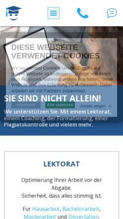 Vorschau der mobilen Webseite www.bewerbungserfolg.de, Bewerbungserfolg.de - Kai Henrik Stapelfeldt