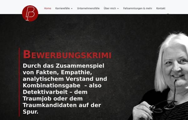 Vorschau von petrabarsch.de, Bewerbungskrimi - Petra Barsch