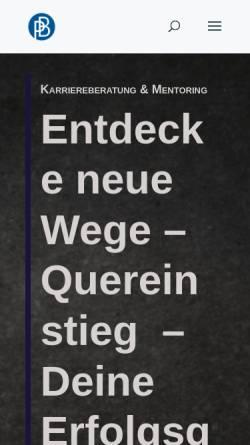 Vorschau der mobilen Webseite petrabarsch.de, Bewerbungskrimi - Petra Barsch