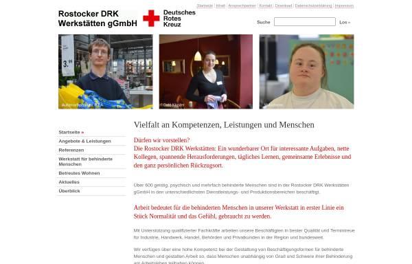 Vorschau von wfbm-rowe.de, Rostocker DRK-Werkstätten des DRK-Kreisverbandes Rostock e.V.
