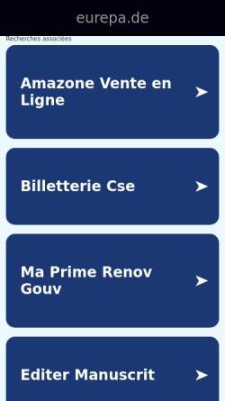 Vorschau der mobilen Webseite www.eurepa.de, European Epilepsy Academy