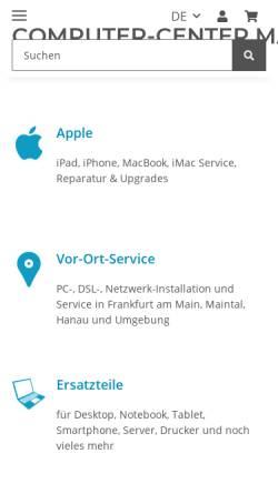 Vorschau der mobilen Webseite www.ado-notebookreparatur.de, ADO Notebookreparatur