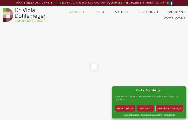 Vorschau von www.praxis-doehlemeyer.de, Otten, Dr. med. dent. Karin