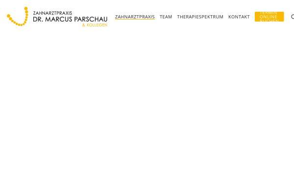 Vorschau von www.dr-parschau.de, Zahnarztpraxis Dr. Parschau & Kollegen Ihr Zahnarzt für Implantate in Buchholz
