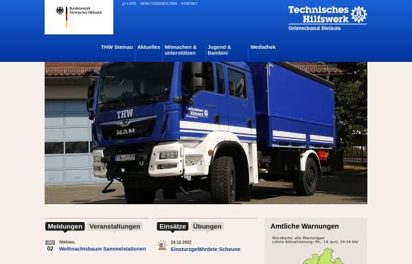 Vorschau von www.ov-steinau.thw.de, THW Steinau