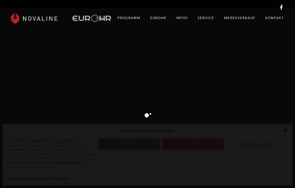 Vorschau von www.novaline.org, Novaline Vertriebs GmbH