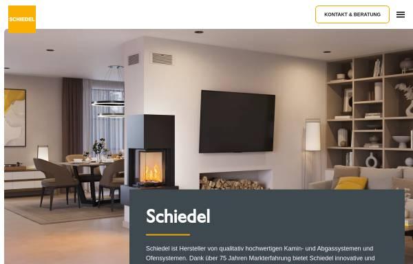Vorschau von www.schiedel.com, Schiedel Kaminsysteme GmbH