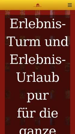 Vorschau der mobilen Webseite www.goslarer-zwinger.de, Goslarer Zwinger