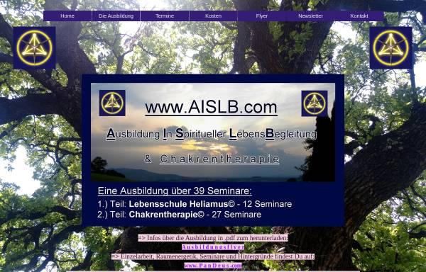 Vorschau von www.aislb.de, A.I.S.L.B.- Ausbildung in spiritueller Lebensberatung